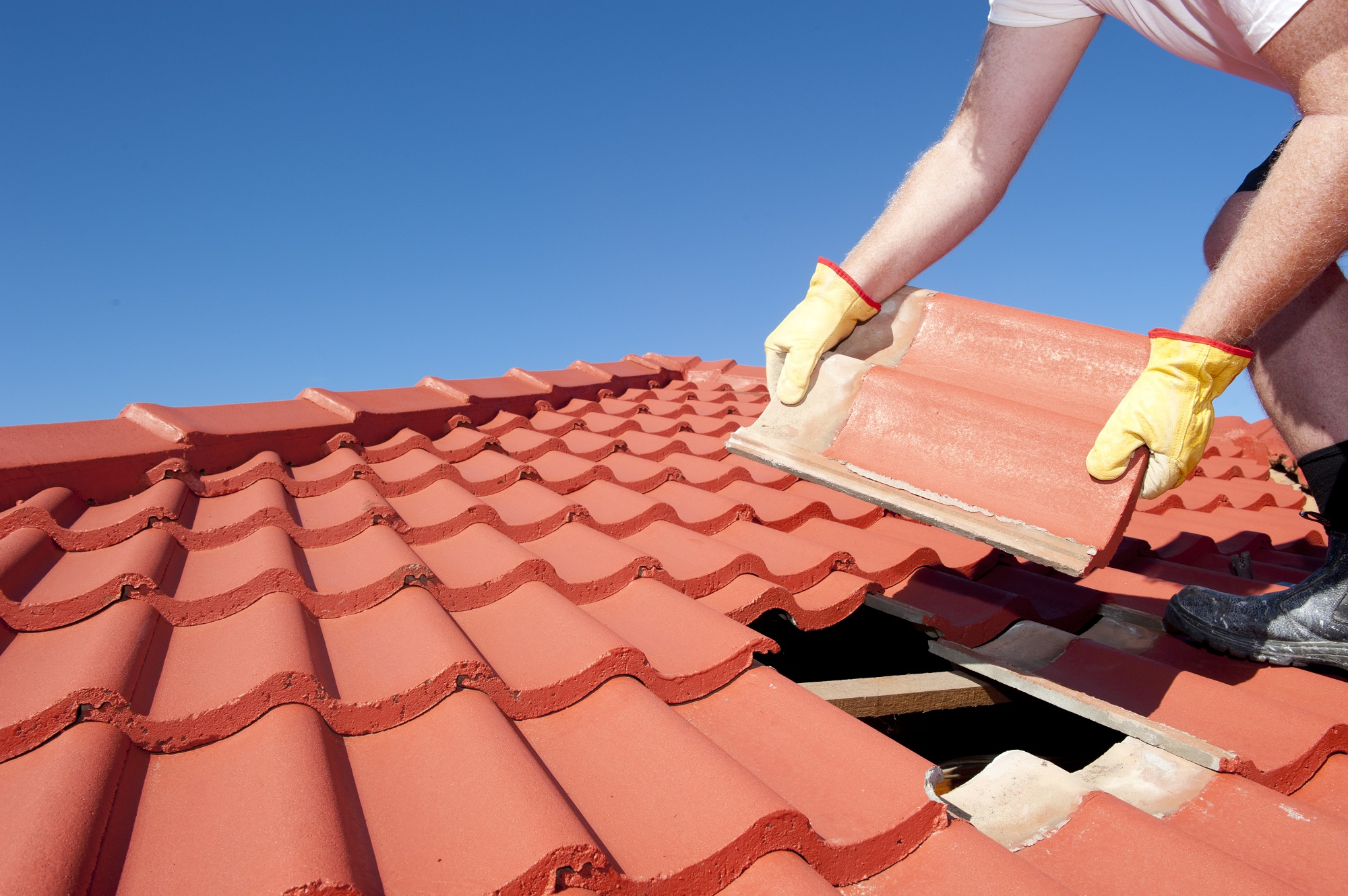 repair of roofs